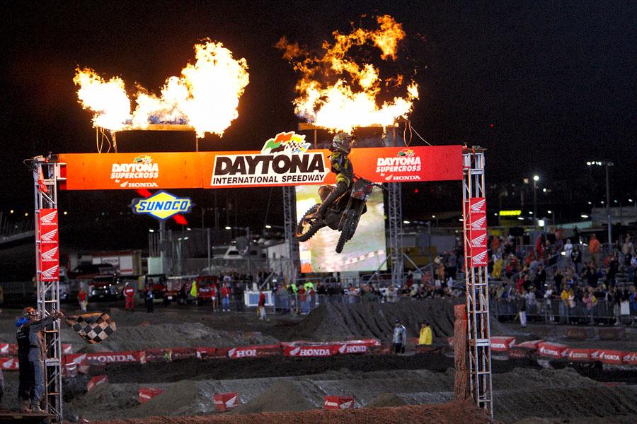Justin Barcia - Winner SX Lites Daytona Supercross 2012